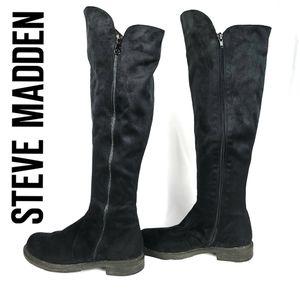 Steve Madden OTK Faux Suede Ridding Boots EUR 37